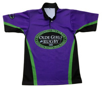 High quality polyester sublimated custom rugby shirts, rugby jerseys for mens