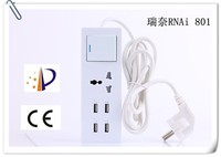 RNAi factory price new product 5V2100mA 5 port usb travel charger