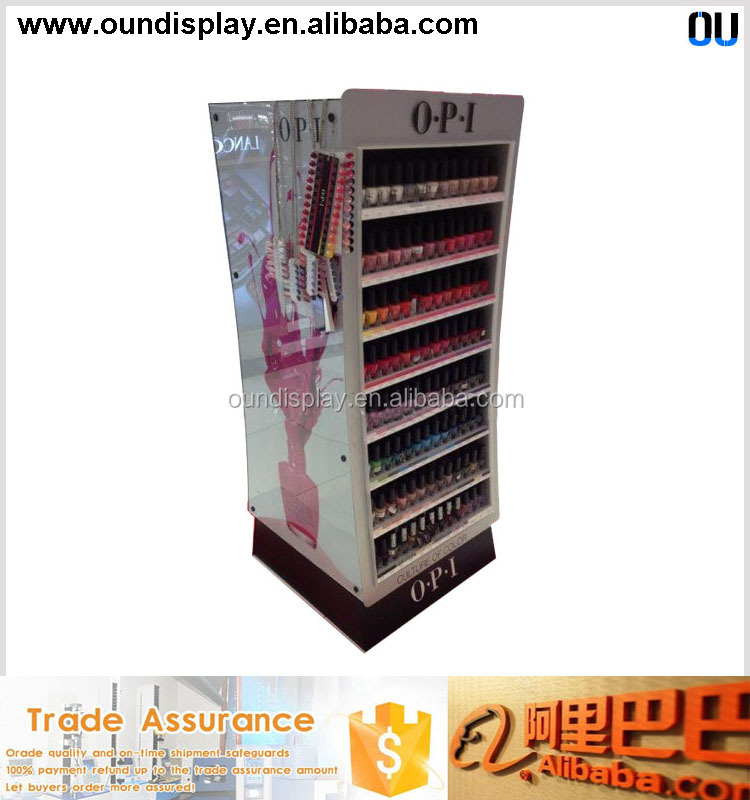 acrylic nail polish display stand muti-tiers custom e-liquid bottles display rack