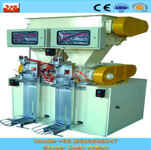 Two spouts cement packing machine