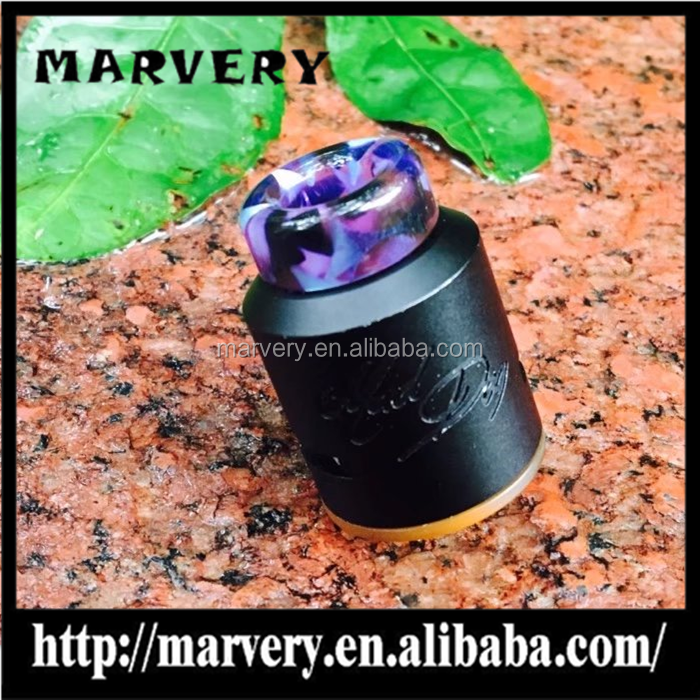 2017 hot selling colorful drip tip/resin drip tip for TFV8/kennedy resin drip tip 510 wide bore driptip