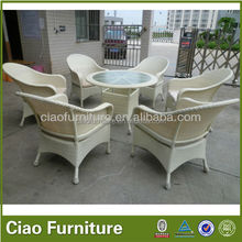 High end garden furniture import outdoor rattan wicker furniture