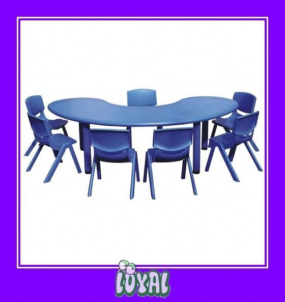 LOYAL children wooden table and chair set