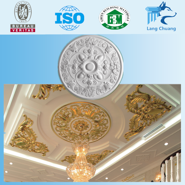 Plaster Ceiling Gypsum Cornice Mouldings Design For House Decor