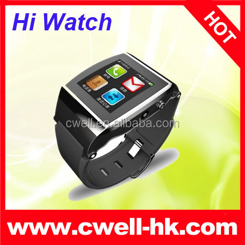 2015 Hot Selling brand watch Pedometer Sports Smart Watch Phone For Android IOS