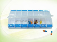 K49-0258 Cute Design Plastic 14 Day Pill Box