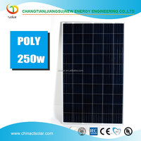 Good quality solar panels made from China 250w poly solar panels