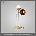Creative design double heads modern reading light with E27 lampholder