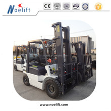 5-9 ton 3000kgs 5 metros truck gasoline/gas forklift with inflatable tires