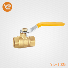 High quality Female Thread Long handle Brass Ball valve for Gas
