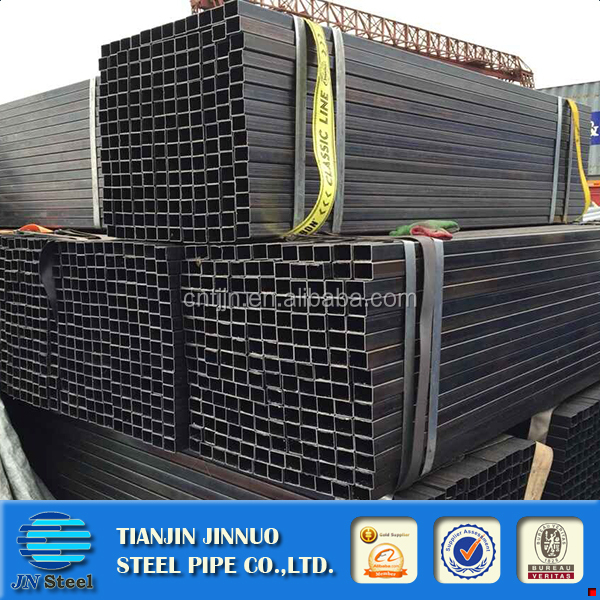 40x40 iron fence rectangular carbon mild steel tube sizes / weight ms square pipe