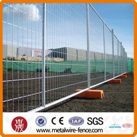 Hot-dipped Galvanized Portable Metal Temporary Fence Panel