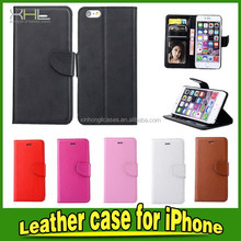 Flip Wallet Stand Leather Case For IPhone Smart Phones