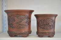 Antique yixing clay flower plant pot ceramic vase ceramic terracotta pots for your selection