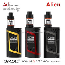 High Quality 220W High Wattage SMOK 3ml Alien Kit With TFV8 Baby