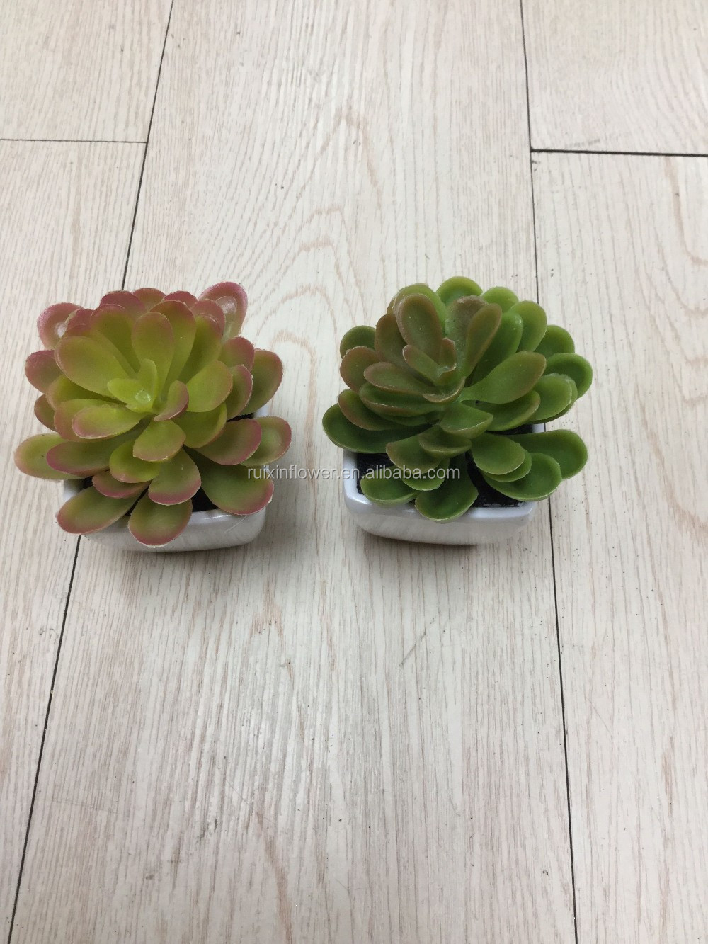 Artificial potted succulents plants, bonsai succulents plants,table small plastic plant pots