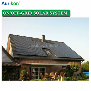 off-grid solar power system 10kw wind hybrid