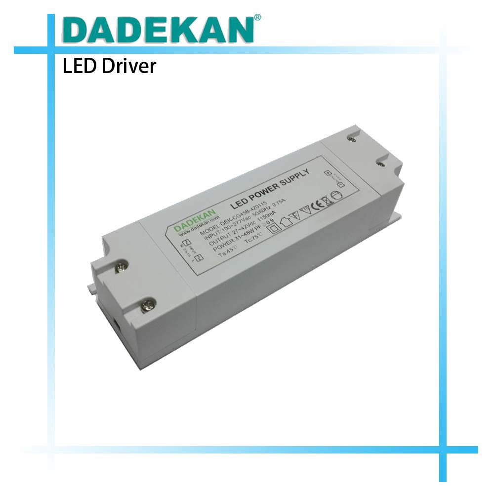 external plastic enclosure 600ma led driver for ceiling light