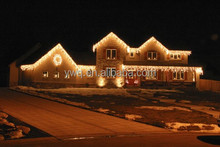 2016 Hot Sale village Christmas led Lights for low price