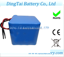 li-ion 18650 3.7V 2000mah 4S4P 14.8V 8ah li-ion rechargeable battery pack