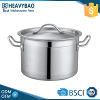Heavybao Satin Polishing Industrial Steam Multi Cooking Pot