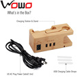 Wood Charge Station Electronics Docking Charging Station WMC1 for Apple Watch iphone and for ipad