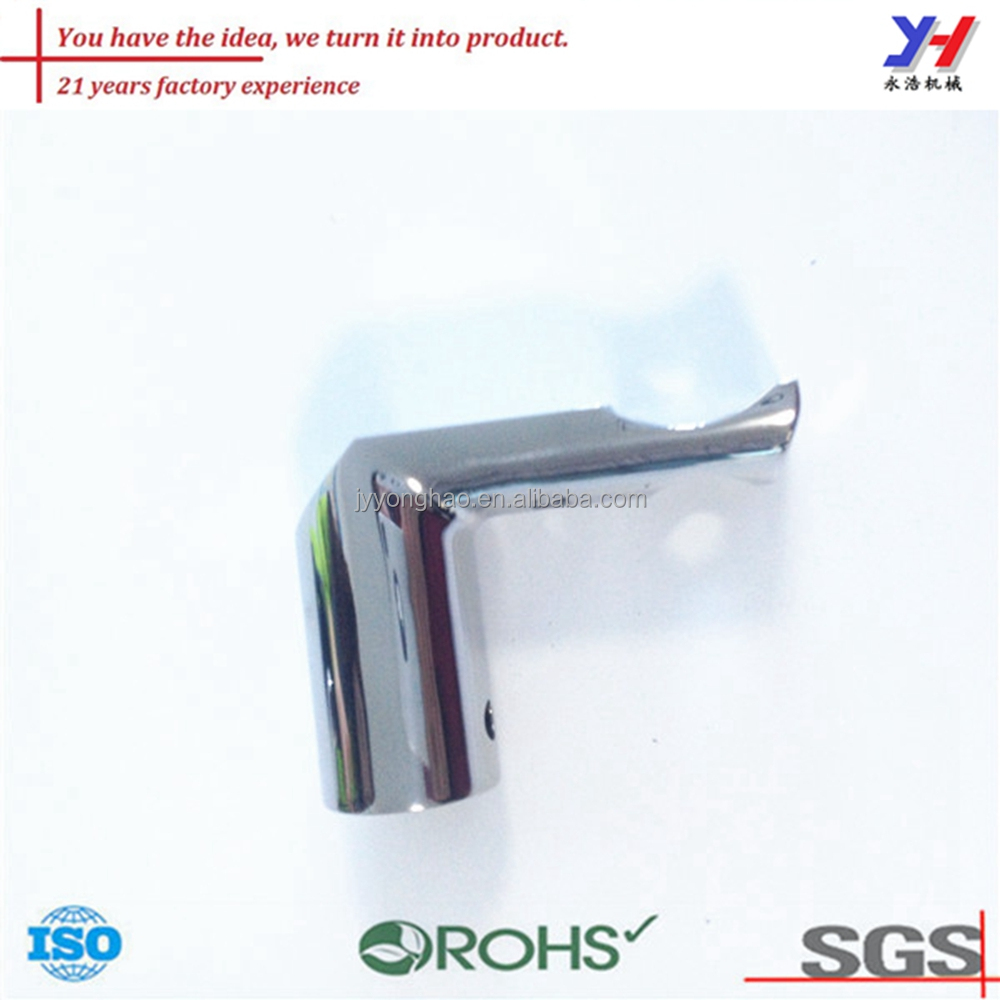 OEM ODM Custom stainless steel pipe fitting, bathroom fittings, pipe rack system joints