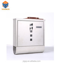 wholesale yoobox Waterproof Stainless Steel mailbox
