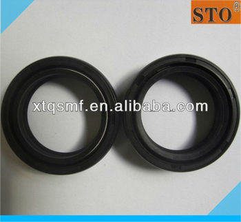 motorcycle fork seal DC 41*53*8 double lips double springs