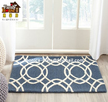 Latex Backing Washable Rug Tufted Carpets