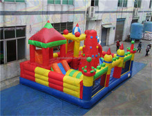 Commercial inflatable playground, popular children bouncer, Giant inflatable amusement park with cheap price