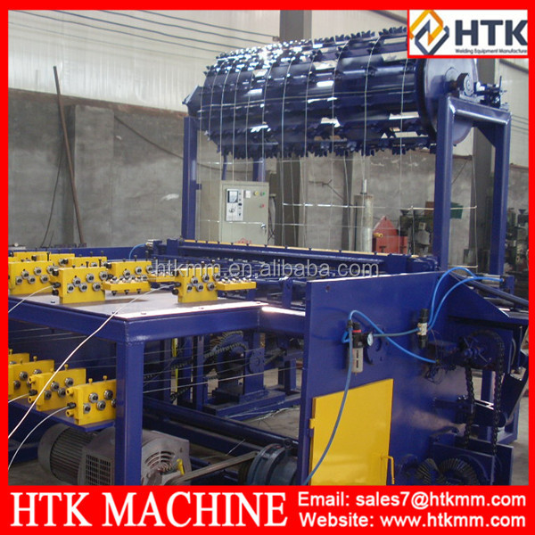 high field automatic fence farm machine