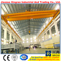 double beam electric travelling overhead crane 50 ton double beam cast crane second hand
