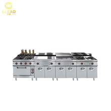 High quality large mechanical mobile catering kitchen electrical equipment project