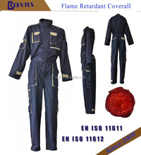 Custom Work Overall Workwear Safety Uniform Flame Retardant Coverall