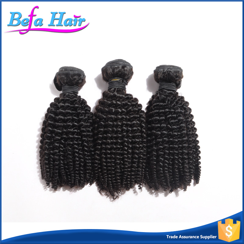 2016 Long Lasting Soft Wholesale Curly Hair Weave For Black Women