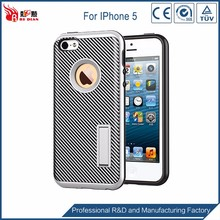 Promotional TPU+PC phone cases for iphone 5 case