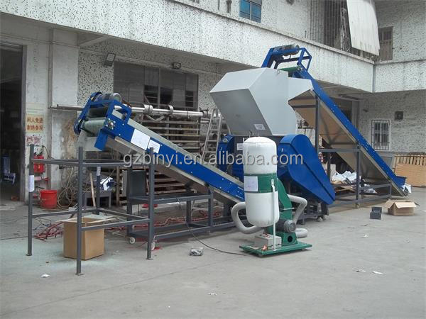 PCB board crushing machine, PCB board recycling line , waste circuit board recycling machine