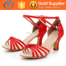 cheap price wedding red latin dance shoes