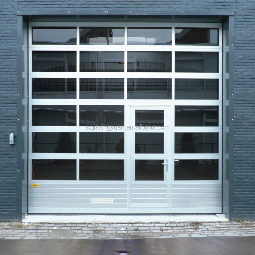 Aluminum Garage Doors : Aluminum glass garage doors with pedestrian door buy