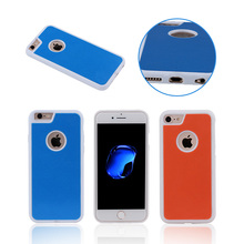 Intelligent design Hot selling new colors Anti-Gravity Sticky Case for iPhone 7