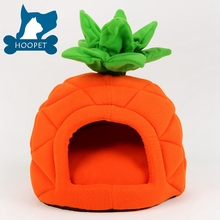 Orange Beautiful House Shape Dog Cage