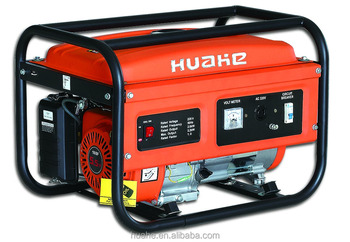Max power 2200w rated power 2000w gasoline generator with American socket