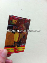 3D Motion Moving 3D lenticular sticker (different images change)