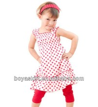 manufacturer baby girl's dress children designs dress without sleeve