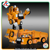 Wholesale Alloy toy diecast model car deformable DIY robot 2 in 1