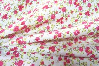 Floral Design 100% Cotton 16*12 108*56 Printed Fabric for Bed Sheet