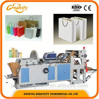 Hot sale Paper Bag Handle Pasting Machine paper bag making machine factory price