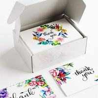 Custom Handmade Thank You Party Flower Paper Kinds Invitation Wedding Gift Holiday Greeting Card