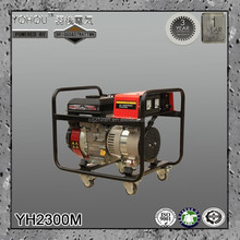 Single phase home use manual gasoline 220 volt portable generator 1kw 2kw